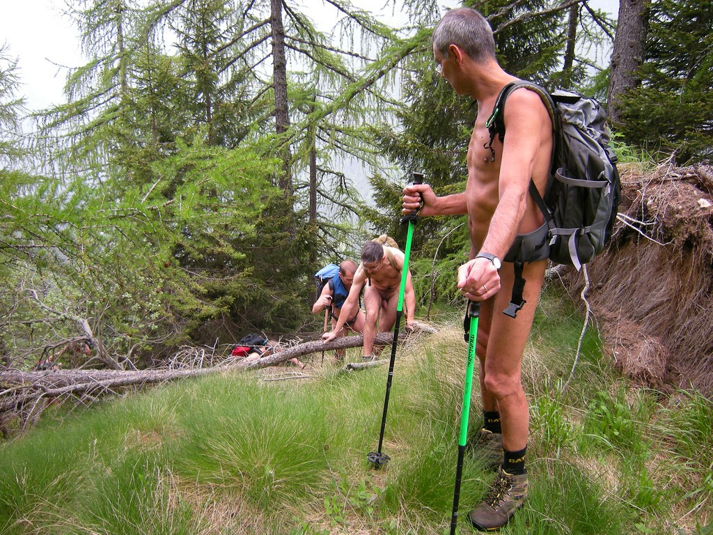 Guys hiking naked, east boy nude
