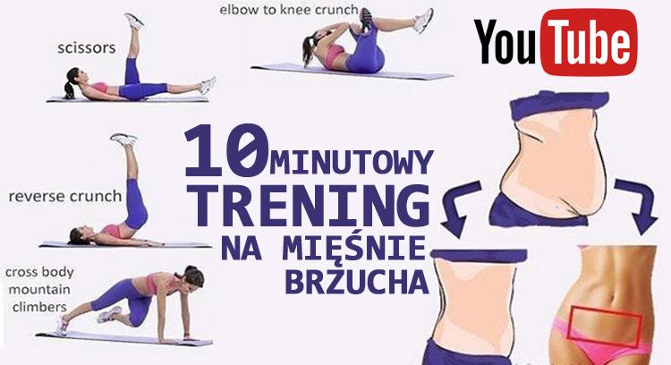10-minutowy mocny trening na mięśnie brzucha