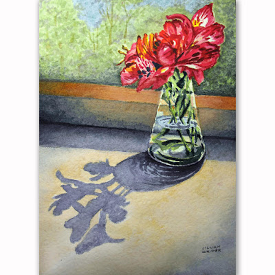 Art Of Jillian Crider Perfect Harmony Sfa Original Watercolor