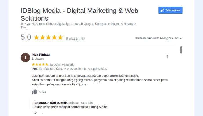cara mendapatkan review pelanggan
