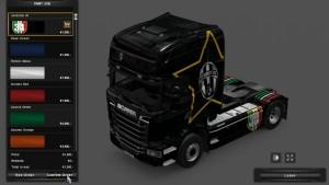 Scania Streamline Juventus Skin