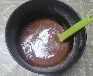 Massa cupcake chocolate