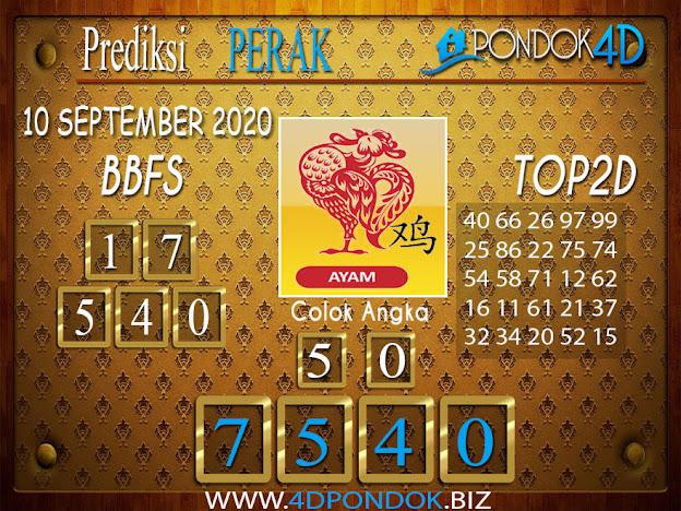 Prediksi Togel PERAK PONDOK4D 10 SEPTEMBER 2020