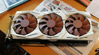 ASUS develops GeForce RTX 3070 graphics card with Noctua cooling system