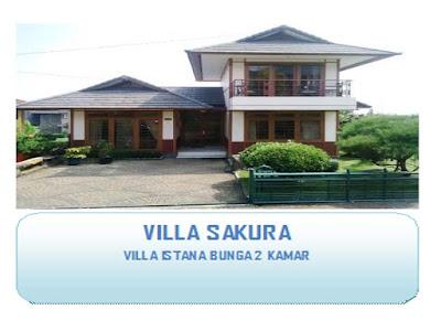 Villa unik 2 kamar di lembang