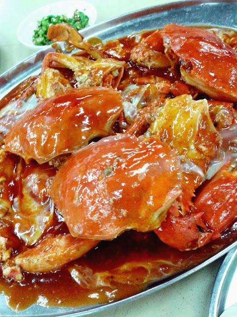 kepiting jantan saus asam manis