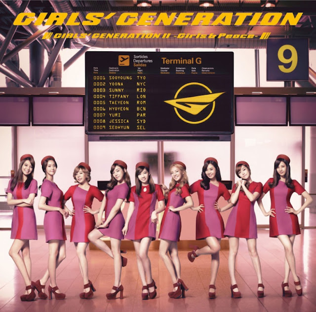SNSD Girls Generation II Girls & Peace cover lyrics