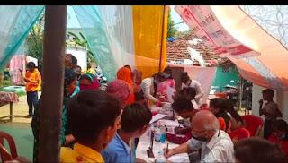 गुरुकुल स्कूल में किया गया निशुल्क स्वास्थ्य शिविर का आयोजन