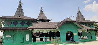 kontruksi masjid sultan suriansyah banjarmasin