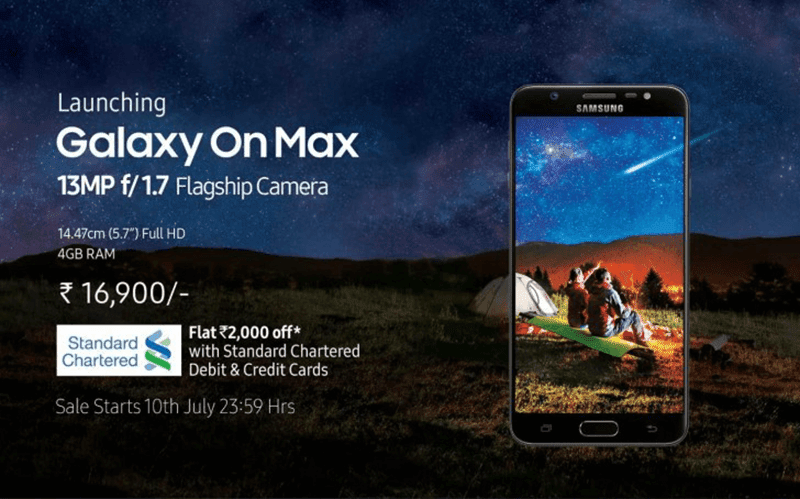 Samsung Announces Galaxy On Max