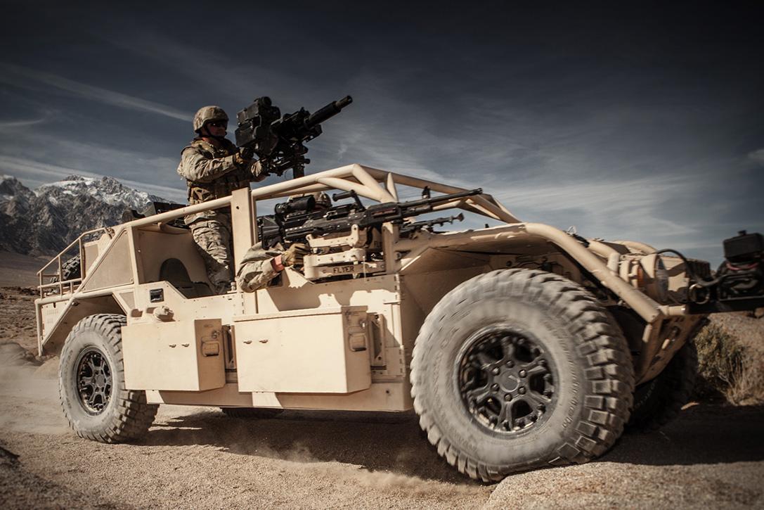 Oshkosh Defence і Flye Infantry Squad Vehicles (ISV)