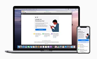 تطلق Apple تطبيق COVID-19 الجديد وموقع الويب استنادًا إلى إرشادات CDC