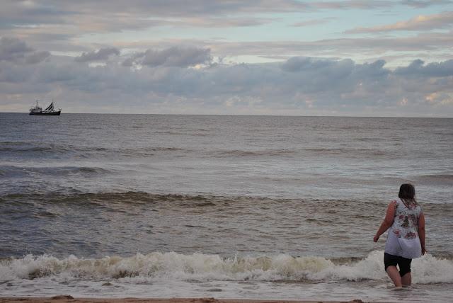 statek bajkowy plaża władysławowo