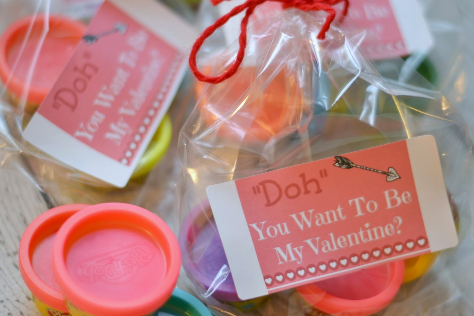 Play Doh Valentine Doh You Want To Be My Valentine