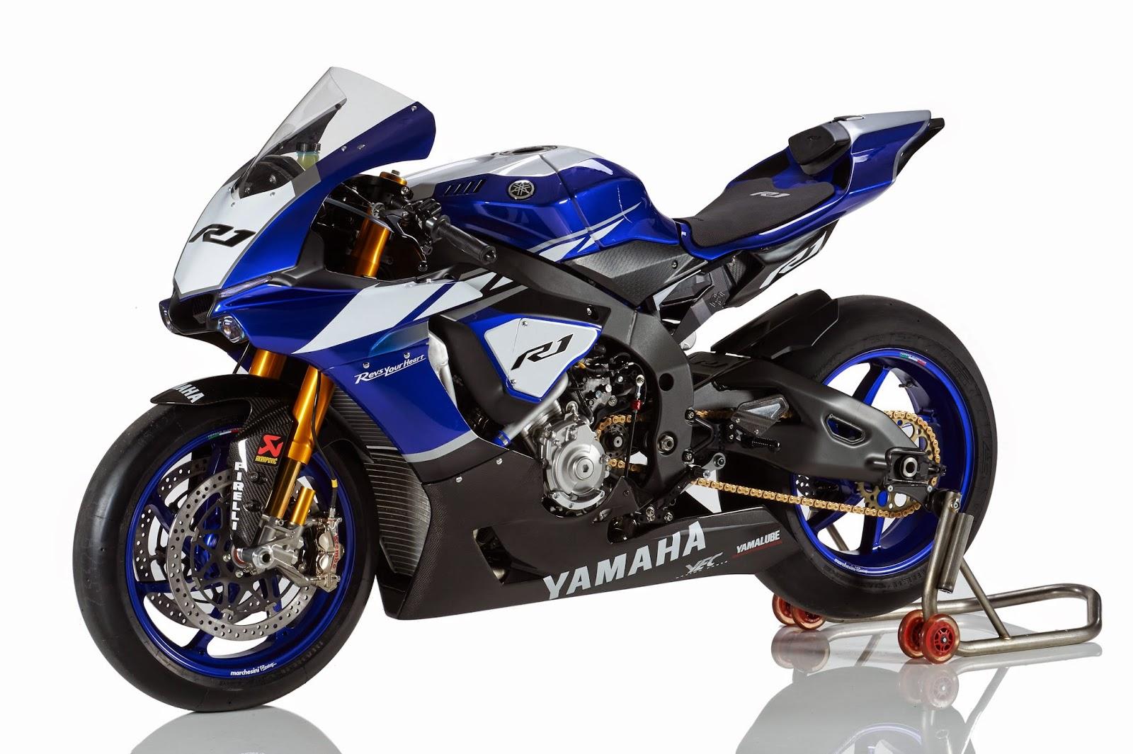 racing caf yamaha yzf r1 factory bike 2015. Black Bedroom Furniture Sets. Home Design Ideas