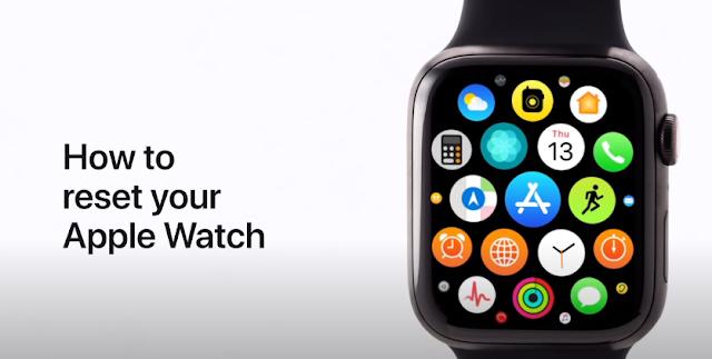 How to reset your Apple watch - Qasimtricks.com