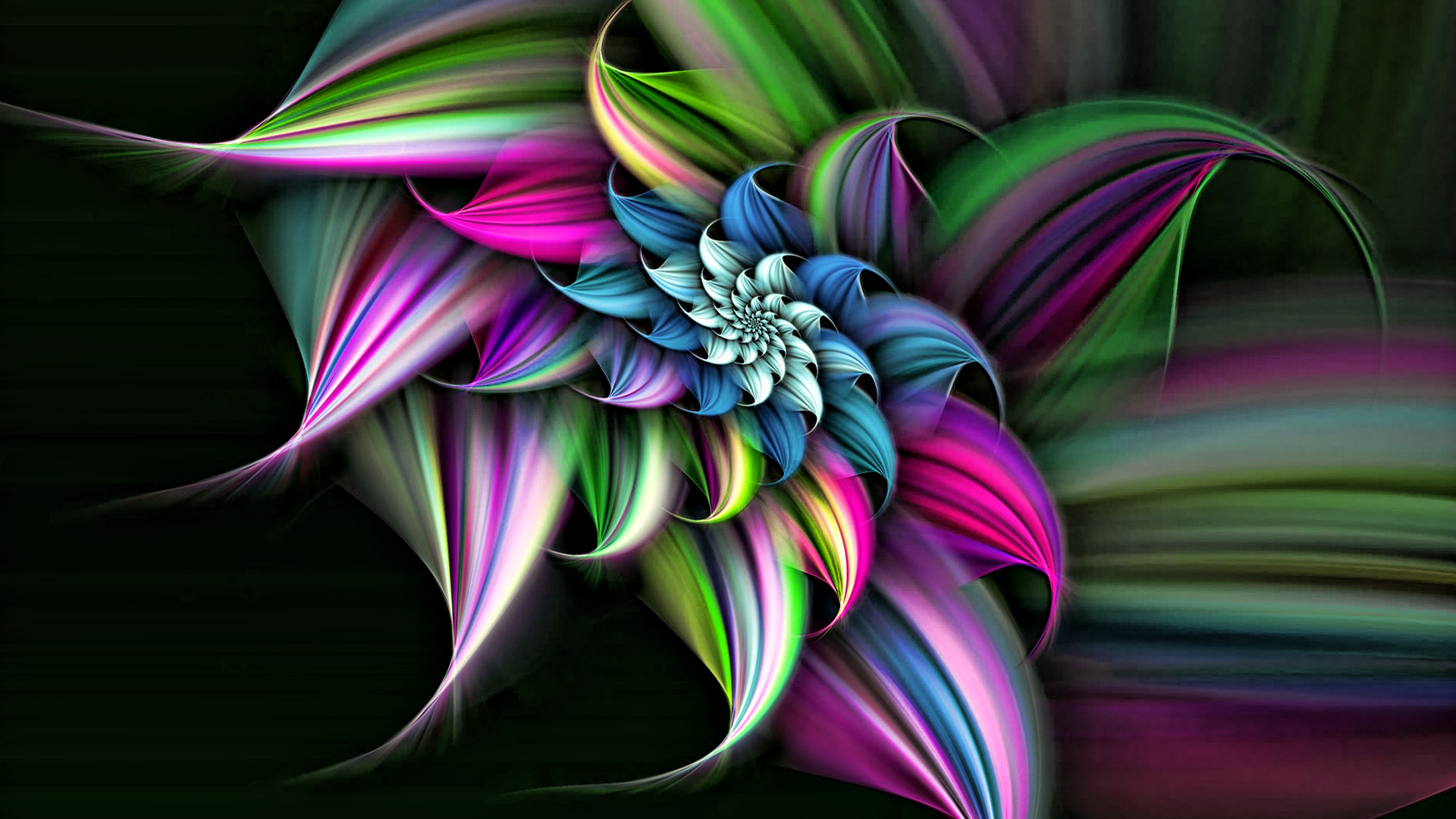 3D Flower | HD Wallpapers