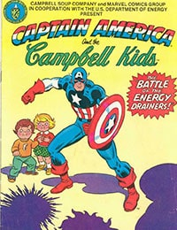 Captain America and The Campbell Kids
