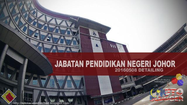 Jabatan Pendidikan Negeri Johor 20160508