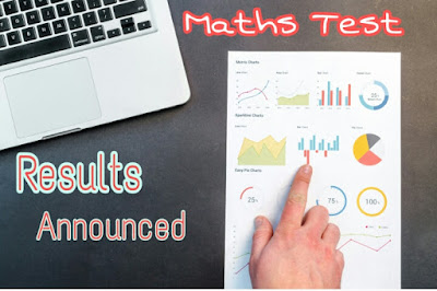 Results announced: Mathematics Test - September 2019
