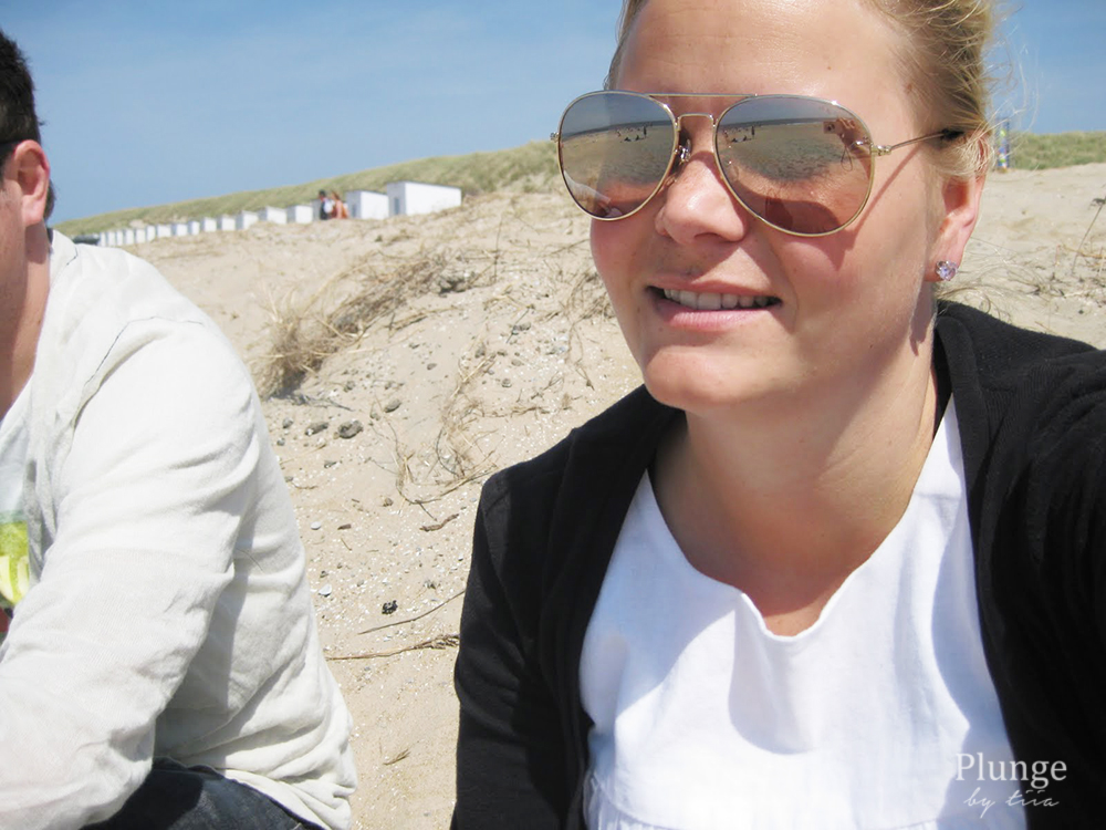 Hanging at the Texel beach