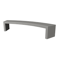 Concrete bench game asset number 2