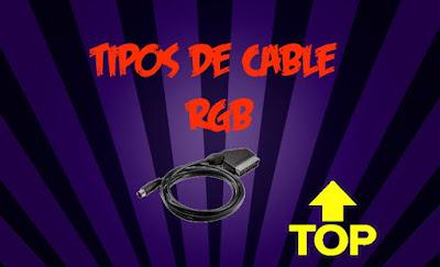 tipos de cable rgb