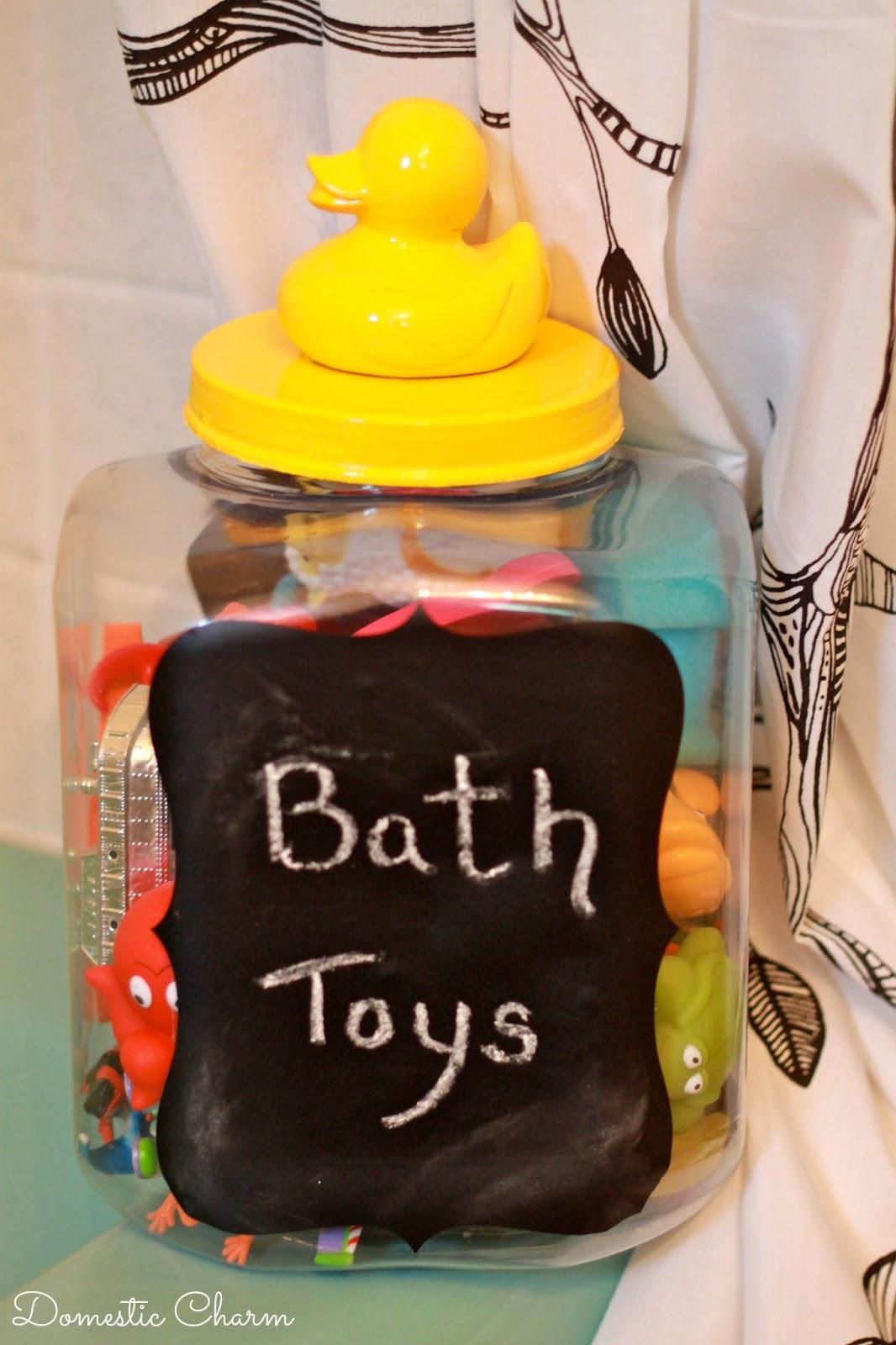 Domestic Charm Diy Bath Toy Tub