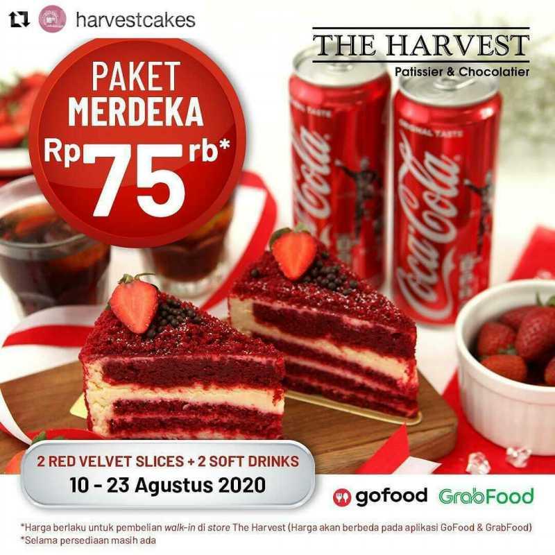 Promo The Harvest Paket Merdeka Periode 10 - 23 Agustus 2020