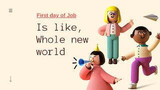 New job is a new world - gyansblogs