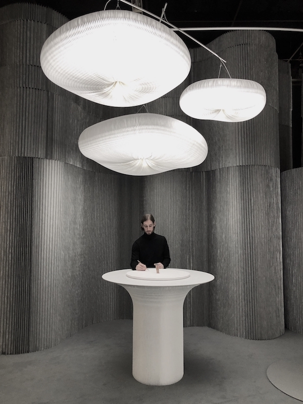 An installation by Molo design and production studio |  imm 2020