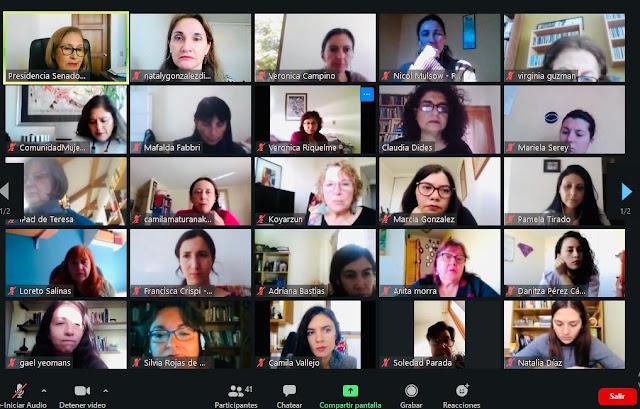 Colegio de Periodistas participa en Mesa de Género Covid19 impulsada por la presidencia del Senado y exige medidas urgentes al ejecutivo