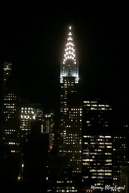 New York Chrysler Building at Night