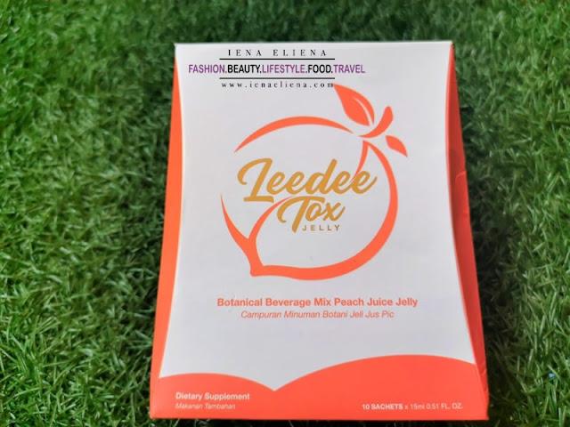 Sihat dan Kurangkan Berat dengan Leedee Tox Jelly