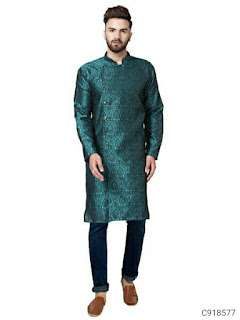 Poly Cotton Printed Straight Kurtas