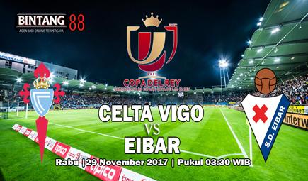 Celta de Vigo vs Eibar 29 November 2017