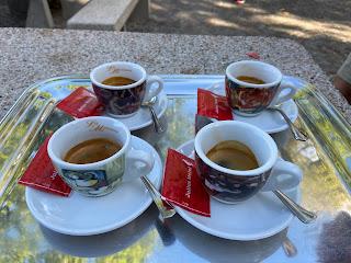 A coffee stop at La Maresana