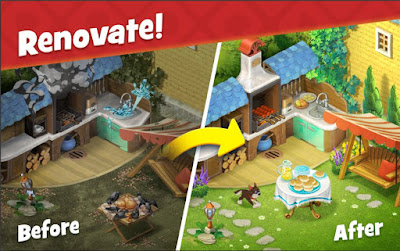 Gardenscapes MOD APK (Game Berkebun Android Offline)