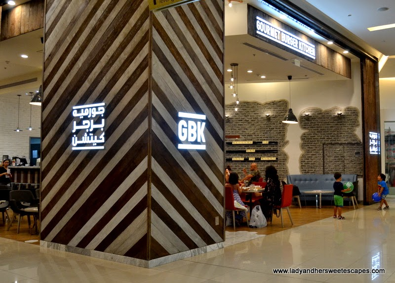 Gourmet Burger Kitchen in Dubai Marina Mall
