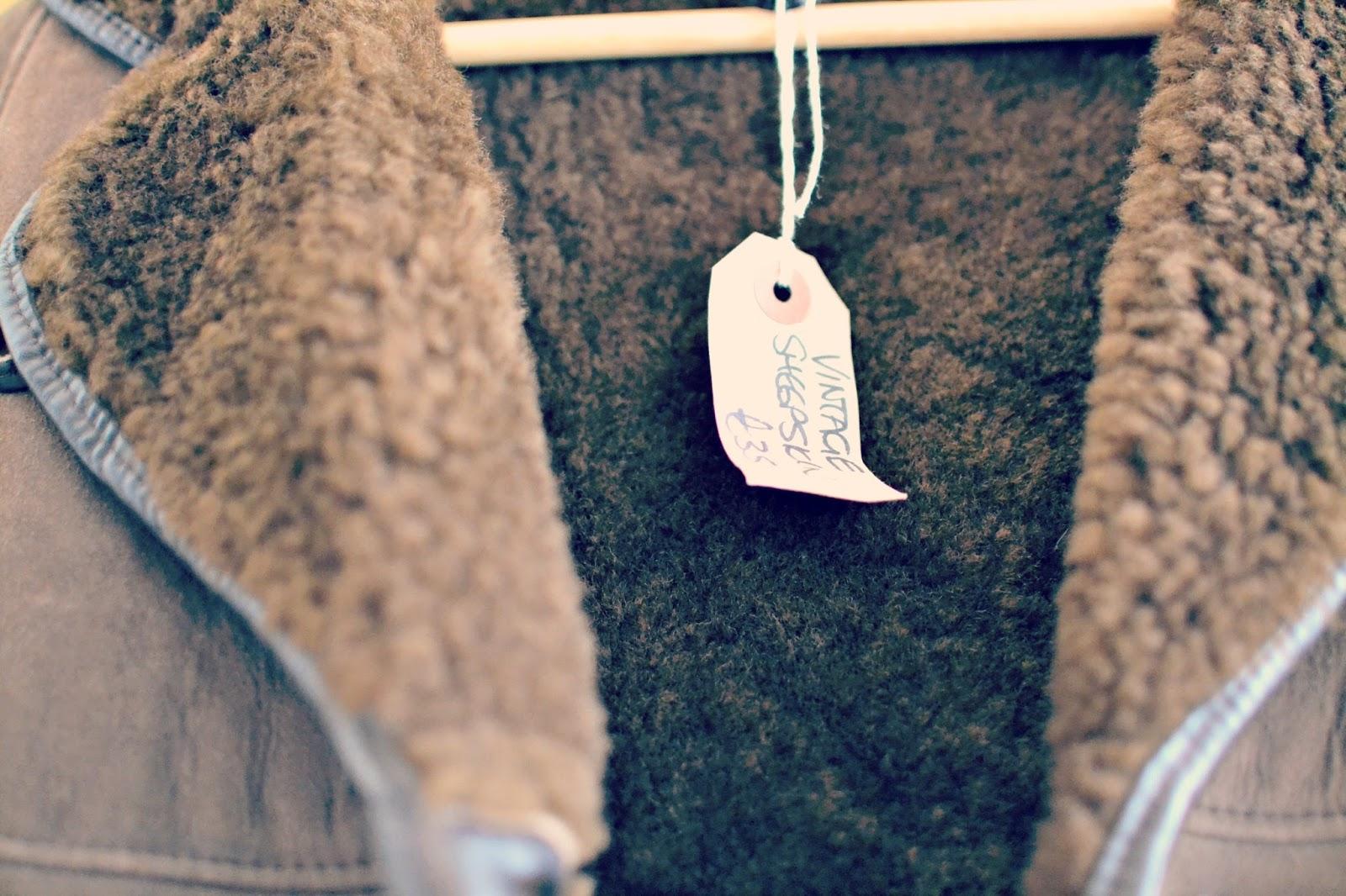 vintage sheepskin coat judys vintage fair