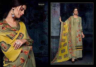 Sargam Print Inayat Pashmina Winter Collection