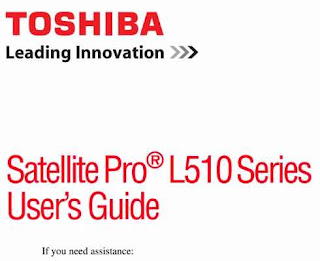 Toshiba Satellite L510 Manual