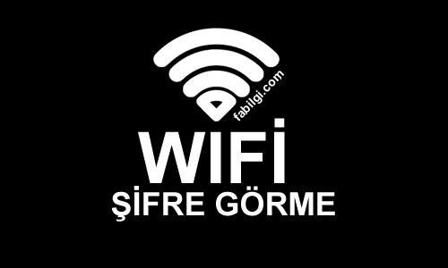 Telefona Kayıtlı Wifi Şifrelerini Görme Uygulaması İndir 2021