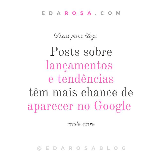 Post com dicas para blogs