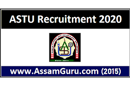 ASTU Recruitment 2020 | Apply For 2 Project Officer & Project Assistant Posts