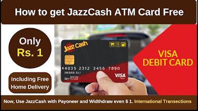 How to get Jazz Cash Debit Card