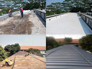 harga perbaikan bocor atap