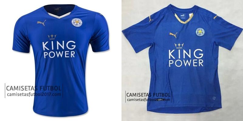 baee54f0674f0 Esta es la Segunda camiseta del Leicester City 2016 que viene en el diseño  negro único que cuenta con un diseño de diamantes en colores apagados ...
