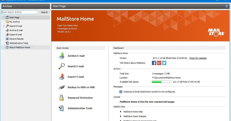 handypaf portables mailstore home portable