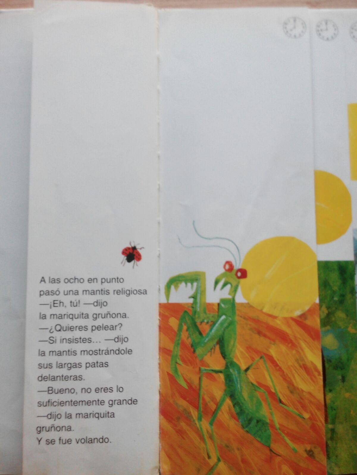 Coleccionando cuentos: La mariquita gruñona